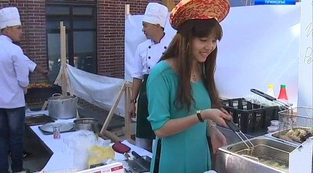 Asian cuisine in Primorsky region.